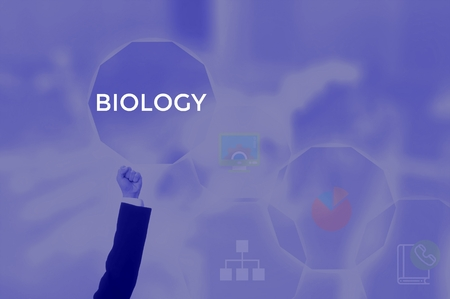 select BIOLOGY - technology and business concept Stock Photo