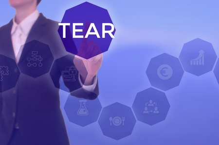 TEAR - technology and business concept