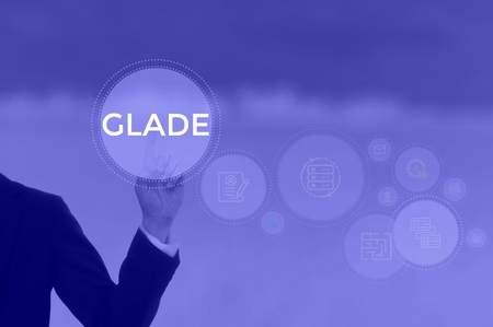 GLADE - technology and business concept Stok Fotoğraf