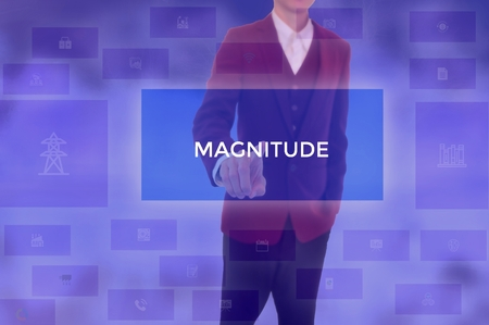 MAGNITUDE - technology and business concept