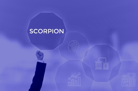 SCORPION - technology and business concept Stock fotó - 119329699