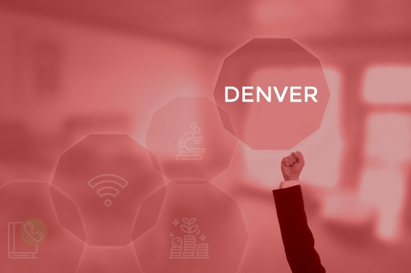 DENVER - technology and business concept