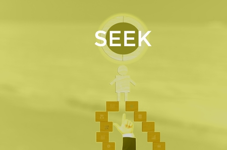 SEEK - technology and business concept