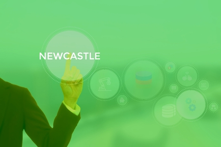 NEWCASTLE - technology and business concept
