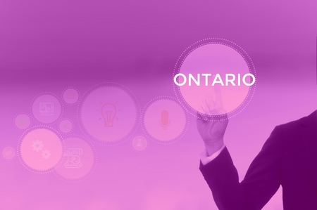 ONTARIO - technology and business concept