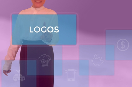 LOGOS - technology and business concept