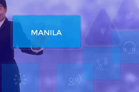 MANILA - technology and business concept