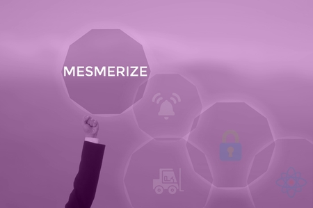 MESMERIZE - technology and business concept Stock Photo