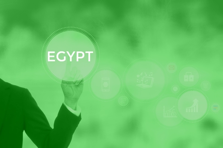 EGYPT - technology and business concept