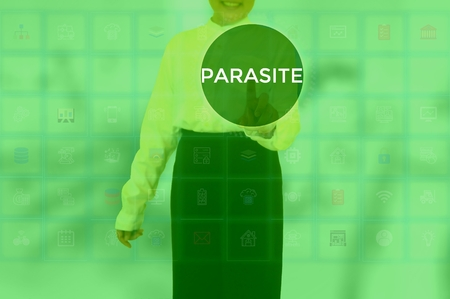 PARASITE - technology and business concept