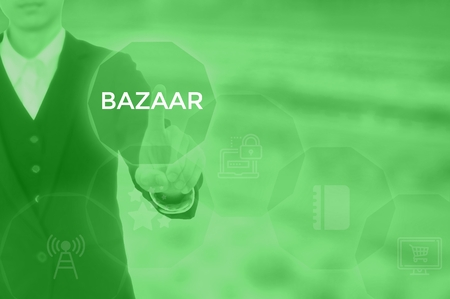 select BAZAAR - technology and business concept