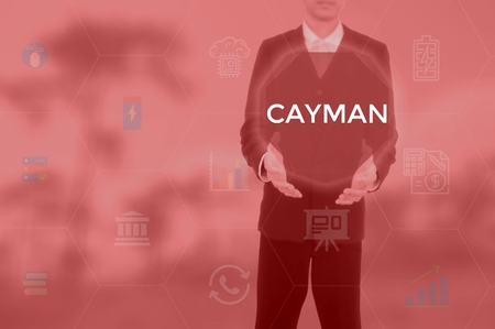 CAYMAN - technology and business concept Stock Photo