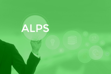 select ALPS - technology and business concept Stock Photo