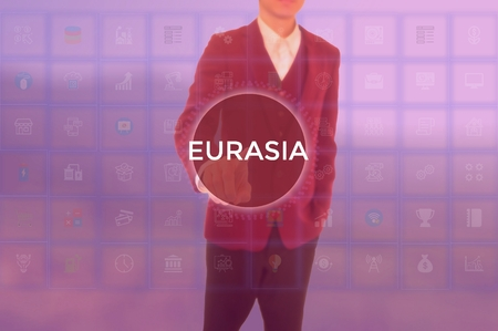 EURASIA - technology and business concept