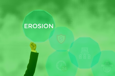 EROSION - technology and business concept