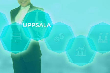 UPPSALA - technology and business concept