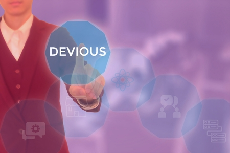 DEVIOUS - technology and business concept