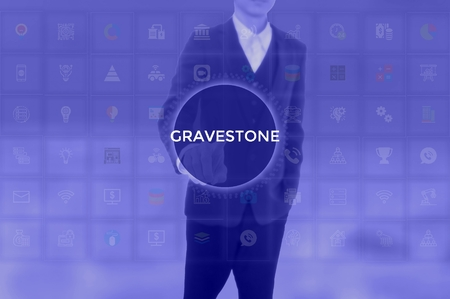 GRAVESTONE - technology and business concept