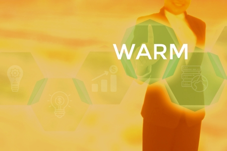 WARM - technology and business concept