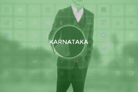 KARNATAKA - technology and business concept