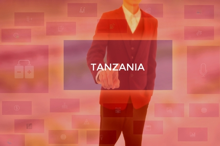 TANZANIA - technology and business concept