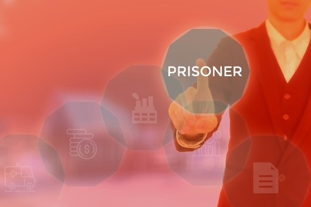 PRISONER - technology and business concept Stock Photo