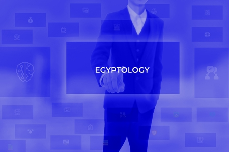 EGYPTOLOGY - technology and business concept