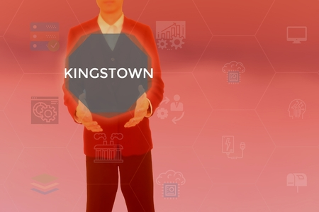 KINGSTOWN - technology and business concept