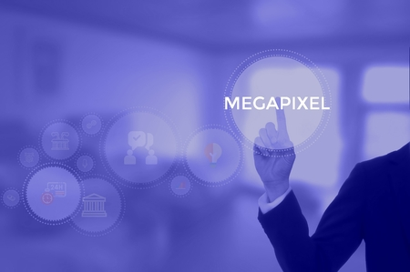 MEGAPIXEL - technology and business concept