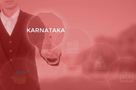 KARNATAKA - technology and business concept Stock Photo - 119610678