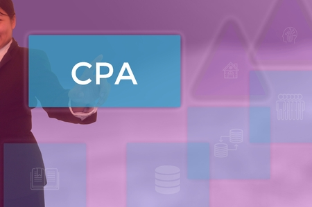 CPA - business and techonology concept