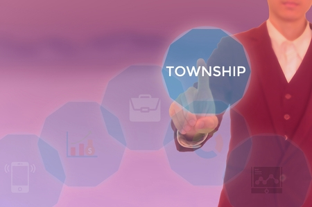 TOWNSHIP - technology and business concept