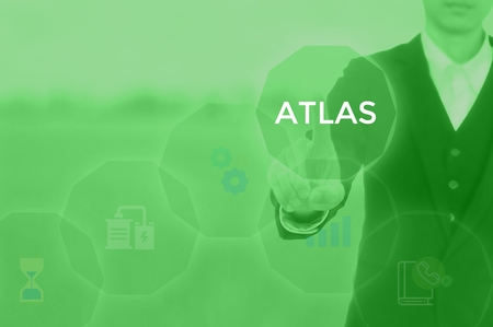 select ATLAS - technology and business concept