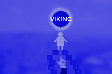 VIKING - technology and business concept