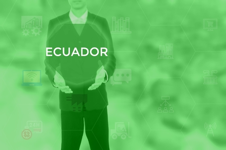 ECUADOR - technology and business concept