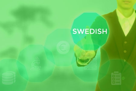 SWEDISH - technology and business concept