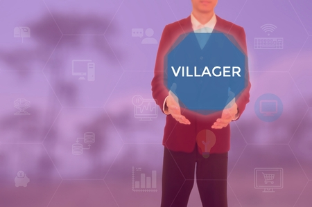 VILLAGER - technology and business concept