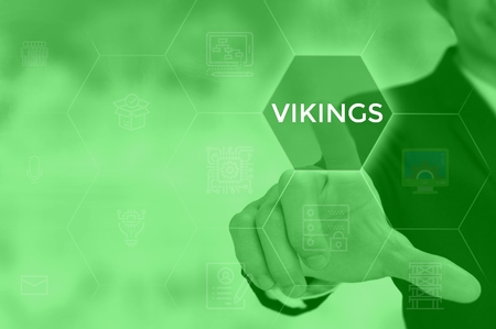 VIKINGS - technology and business concept