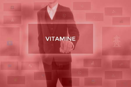 VITAMINE - technology and business concept Banco de Imagens - 119711718