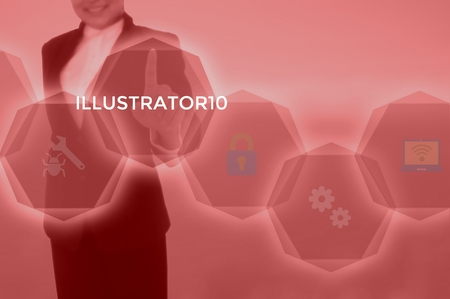 ILLUSTRATOR10 - technology and business concept