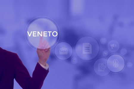 VENETO - technology and business concept Stock Photo