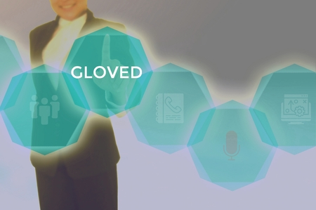 GLOVED - technology and business concept