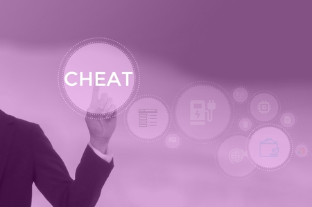 CHEAT - technology and business concept Stock Photo - 119713732