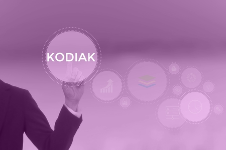KODIAK - technology and business concept Stock Photo