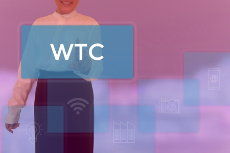 World Trade Center - business concept