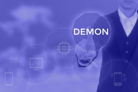 DEMON - technology and business concept