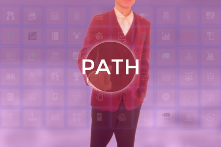 PATH - technology and business concept