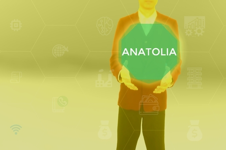 select ANATOLIA - technology and business concept Stock Photo