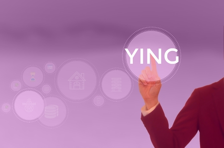 YING - technology and business concept