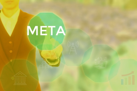 META - technology and business concept